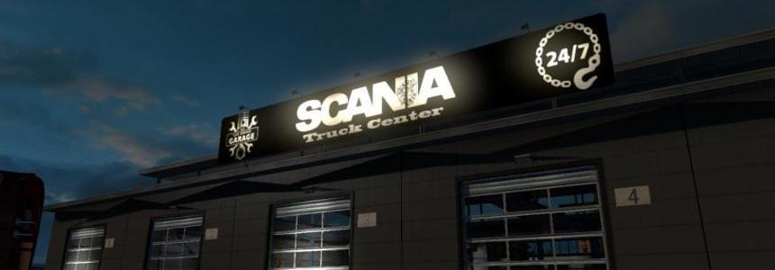 Scania Truck Center Garage v1.0