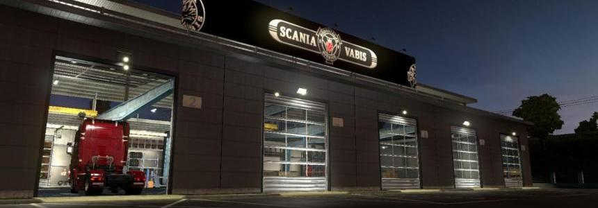 Scania Vabis Garage v1.0