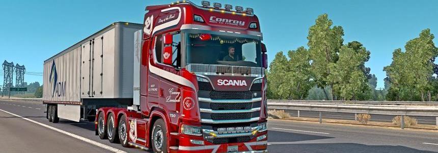 Sounds for trucks in ETS2 18.II.25 v1.0