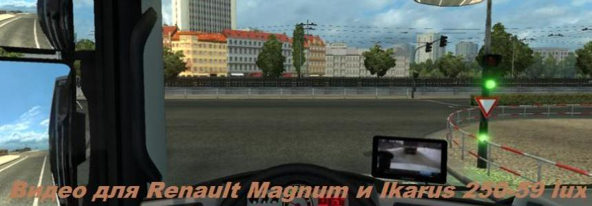 Video for Renault Magnum knox_xss and Ikarus 250-59 lux v1.2