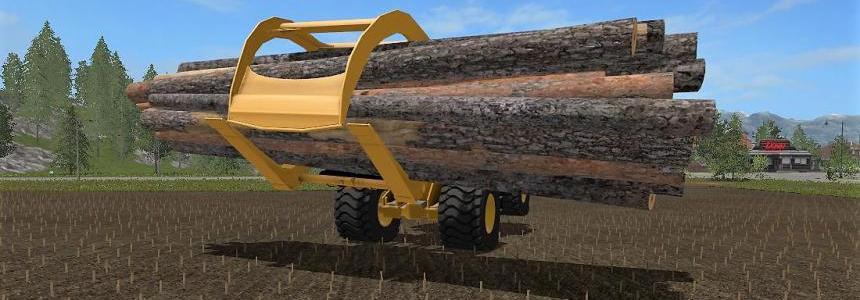 WheelLoader Log Fork v1.0