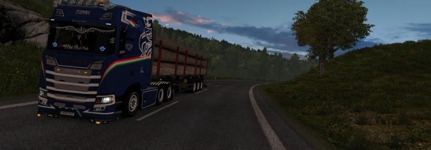 Zsombii skin for Scania v0.5B