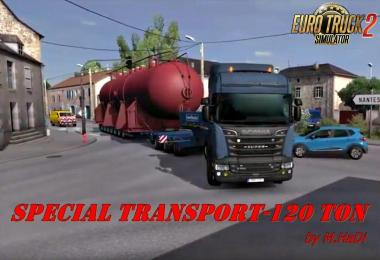 120 Tons for Special Transport by M.HaDi 1.30.x