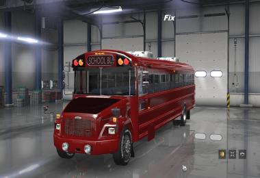Fix for Freightliner F65 (School Bus) ATS v1.0