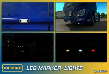 [ATS/ETS] Boreman LED Marker Lights v1.2