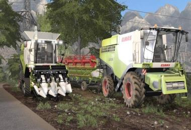 CLAAS LEXION 700 STAGE IV pack v1.4.2.1