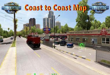 Coast to Coast Map v2.5