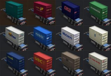 Containers of real companies v2.0