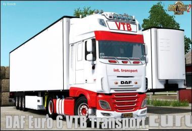 DAF E6 VTB Transport Edition + Trailer v1.0