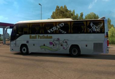 B12BTX Bus Passenger mods Hanif Bus skin BD v1.0