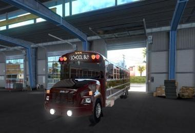 Freightliner F65 or the legendary School Bus v1.1