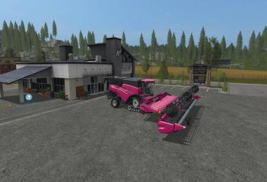 FS17 Pink New Holland Pack v1.0