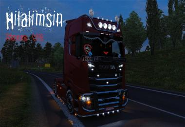 Hilalimsin Save V2 Red HeadLight - V8 Engine sound multiplayer 1.30