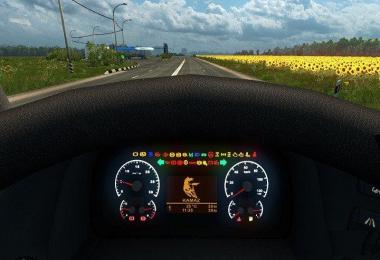 KAMAZ 5490 NEW Dashboard v1.0