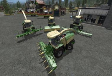 Krone Big X Series with PF Cam v1.1