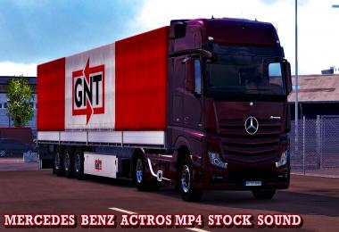 Mercedes Actros MP4 Stock Sound Mod v1.0