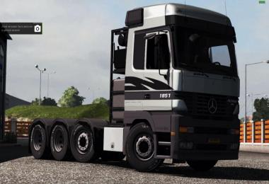 Mercedes-Benz Actros MP1 6x4, 8x4 [1.31.x]
