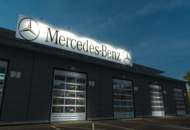 Mercedes Benz Garage v1.0