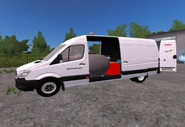Mercedes Sprinter workshop car v1.0