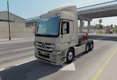 Mercedes Trucks Megapack for ATS 1.30.x