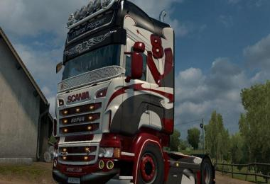 Metal Ripper Skin for Scania RJL