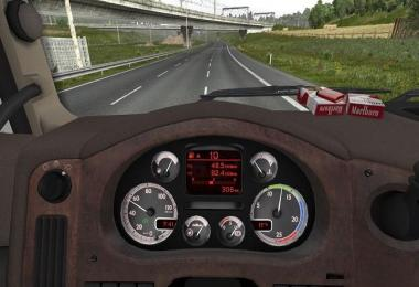 New DAF XF 105 Custom Dashboard v1.0
