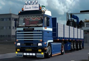 SCANIA 143M FIELDHOUSE v1.0