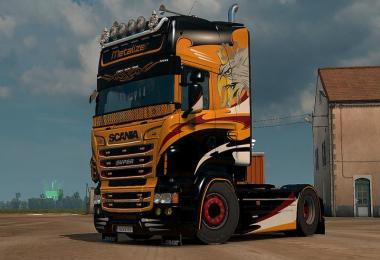 Scania R & S Metalizer skin 1.30