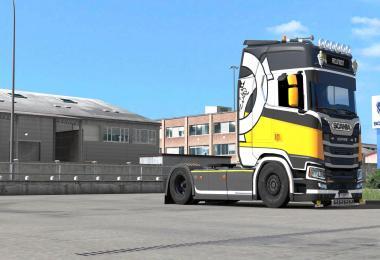 Scania S - Reunion Paintjob by l1zzy