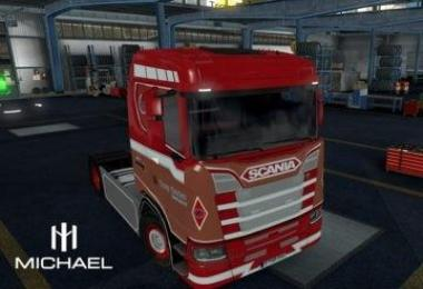 Scania S Ronny Ceusters Skin