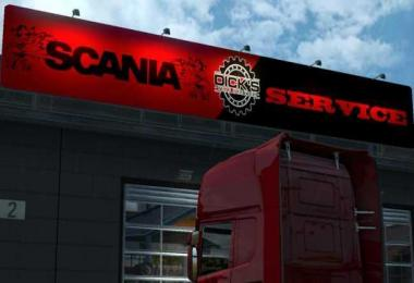 Scania Service Big Garage v1.0