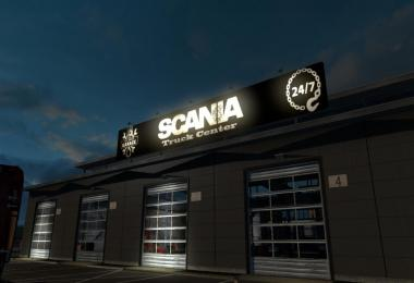 Scania Truck Center Garage v1.0