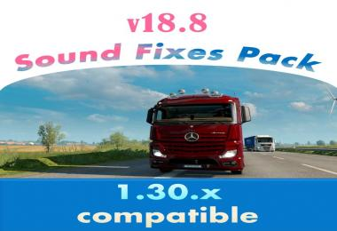 Sound Fixes Pack v18.8