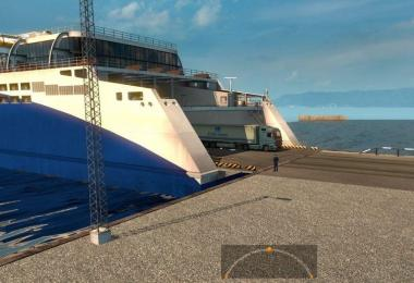 Southern Region v7.0 Ferry Connection: Novorossiysk Messina