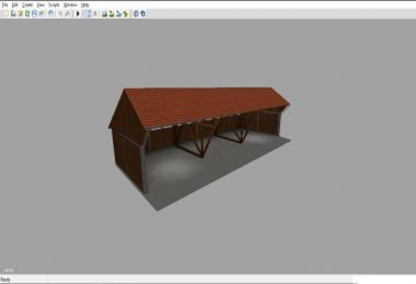 Unterstand Holz Variante1 v0.15 Beta