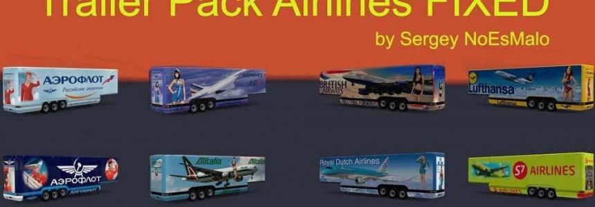 Aerodynamic Airlines Trailer Pack Fixed 1.31