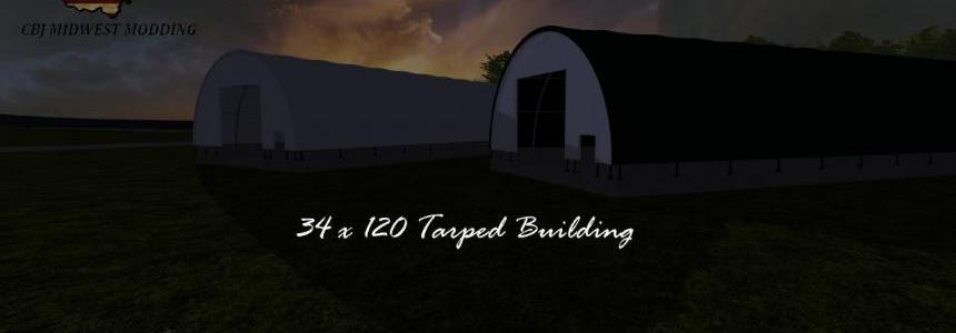 34x120 Tarped Building v1.0