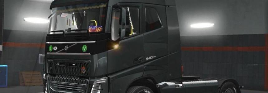 New Volvo FH16 Accessories + Interior V4 [1.31]
