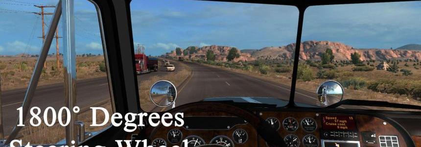 1800 Degrees Steering Wheel Animations v1.0