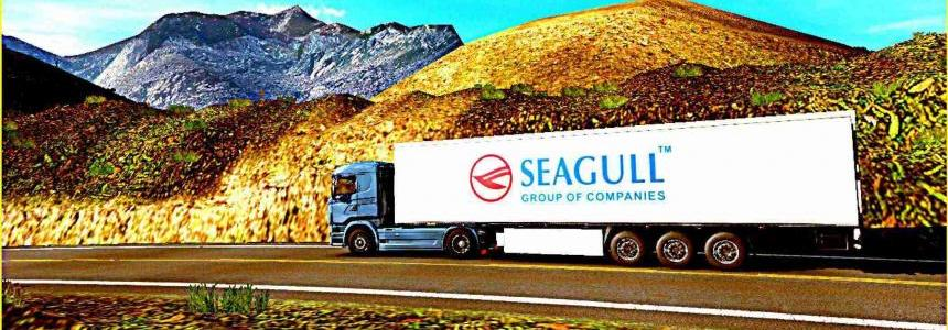 Trailer Seagull For ETS2 1.30