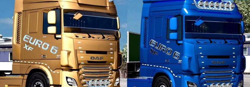 DAF XF EURO 6 EDIT BY BURAKTUNA24 UPDATE 1.31.X