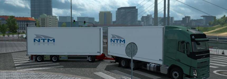 Kraker, NTM, Ekeri Tandem addon for Volvo FH 2012 1.31