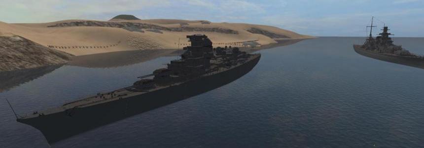 Admiral Hipper Heavy cruiser v1.0.0.0