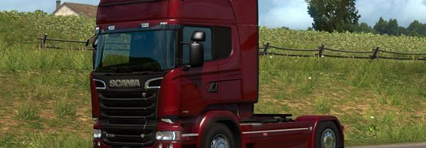 ALL RJL'S SCANIAS WORKINS IN ETS2 1.31.1 – FIX