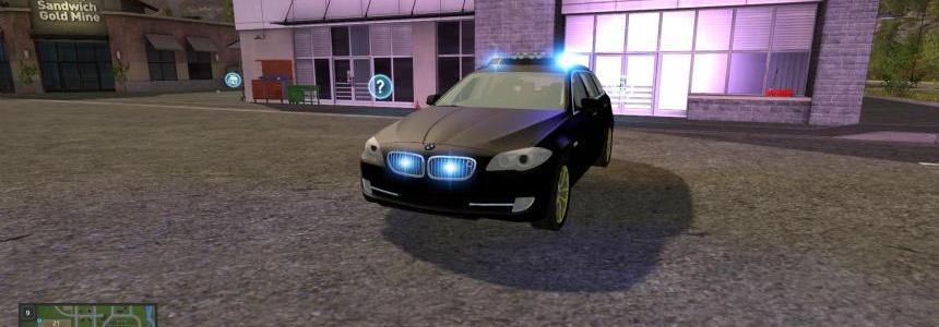 BMW 530D TOURING Black v2.0