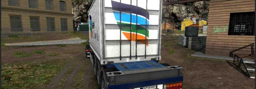 Container Fleet Multimodal For ETS2 1.30