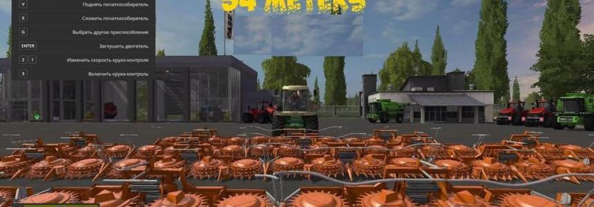 Crazy Forage Harvester Cutter v1.0