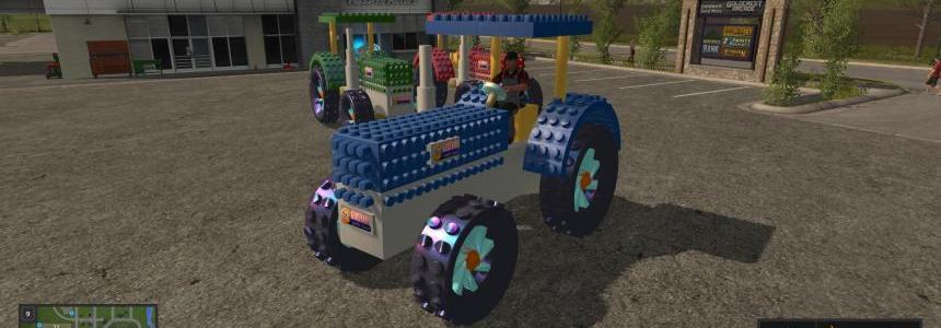 Crazy Lego Tractor v1.0