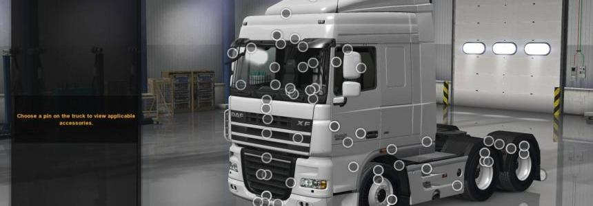 DAF XF 105 by vad&k + Crawler for ATS 1.31
