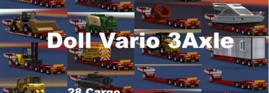 Doll Vario 3Achs with new backlight and in Traffic v6.5
